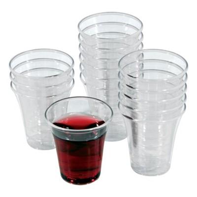Чашки за Господна трапеза - пакет 50 (пластмасови, прозрачни)