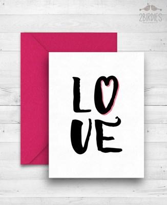 "Картичка ""Love"""