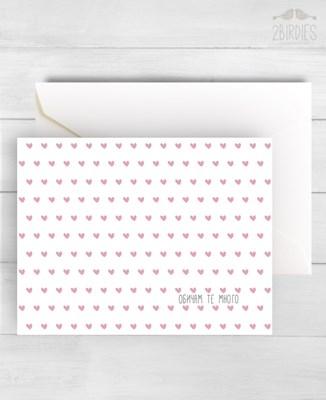 """Картичка """"Обичам те много"""" [Подаръци/Сувенири]"""