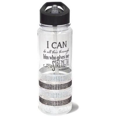 Бутилка за вода - I can do all this (Филипяни 4:13) [Подаръци/Сувенири]