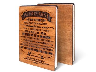 Дървен тефтер - The Lord's Prayer (L) [Подаръци/Сувенири]