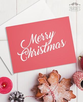 "Картичка ""Merry Christmas"" [Подаръци/Сувенири]"