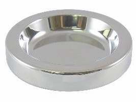 Малка чиния за хляб - сребърен цвят
