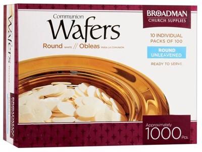 Хляб за Господна вечеря (кръгъл) -  пакет 1000 [Подаръци/Сувенири]