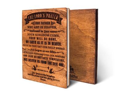 Дървен тефтер - The Lord's Prayer (M) [Подаръци/Сувенири]