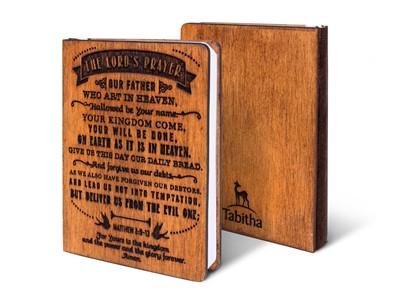 Дървен тефтер - The Lord's Prayer (S) [Подаръци/Сувенири]