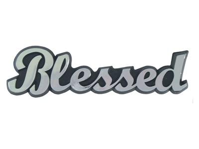 Емблема за кола - Blessed [Подаръци/Сувенири]
