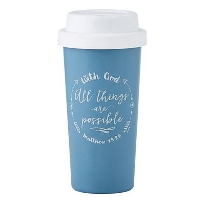 Чаша за изпът - With God All Things... [Подаръци/Сувенири]