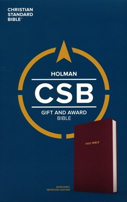 CSB Gift & Award Bible, Burgundy