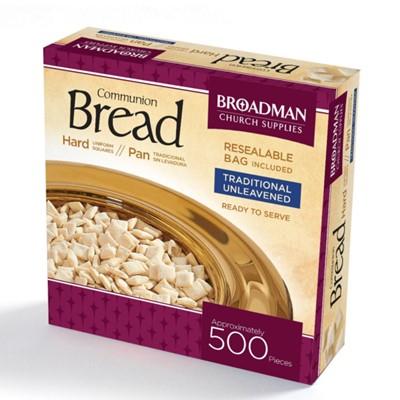 Хляб за Господна вечеря (квадратен, твърд) - пакет 500 [Подаръци/Сувенири]