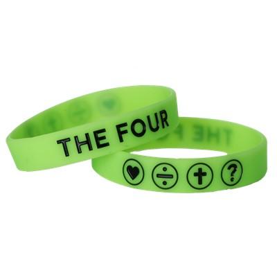 Гривна THE FOUR - неоново зелен цвят - 190мм [Подаръци/Сувенири]