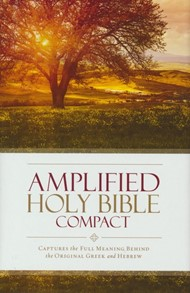 Amplified Compact Holy Bible, hardcover