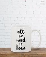 """Чаша """"All We Need Is Love"""""""