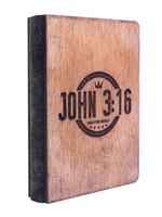 Дървен бележник - John 3:16