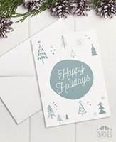 "Картичка ""Happy holidays"" [Подаръци/Сувенири]"