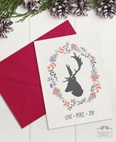 """Картичка """"Love, Peace, Joy"""" [Подаръци/Сувенири]"""