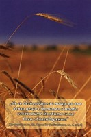 Еднолистна картичка със стих - Филипяни 4:6