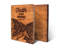 Дървен тефтер - Faith, Can Move Mountains (M)