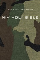 NIV Compact Bible, Green Camouflage