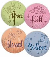 Подложки за чаши - Nature's Grace (4 в пакет) [Подаръци/Сувенири]