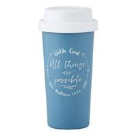 Чаша за изпът - With God All Things...