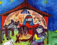 Детски пъзел - Рождество