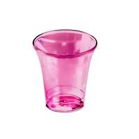 Чашки за Господна трапеза - пакет 50 (пластмасови, винен цвят)