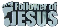 Емблема за кола - Follower of Jesus