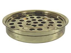 Поднос за чашки за Господна вечеря - златист цвят