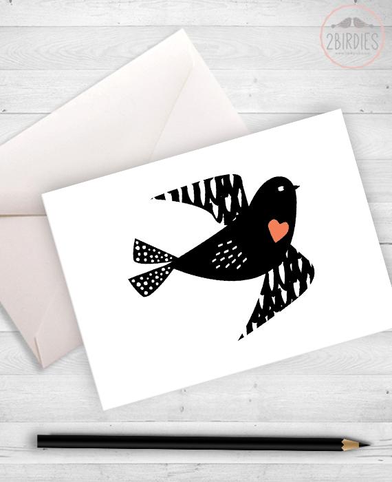 "Картичка ""Птиче"""