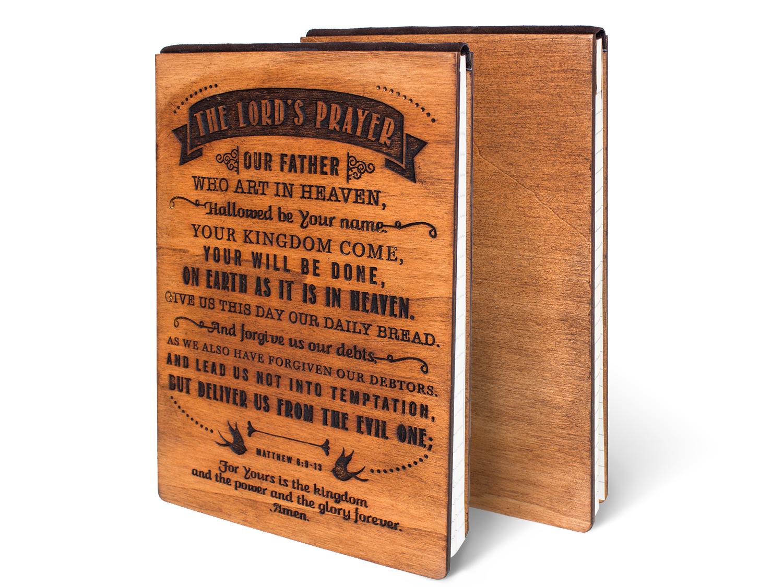 Дървен тефтер - The Lord's Prayer (L)