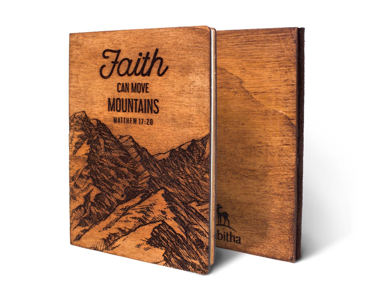 Дървен тефтер - Faith, Can Move Mountains (M)