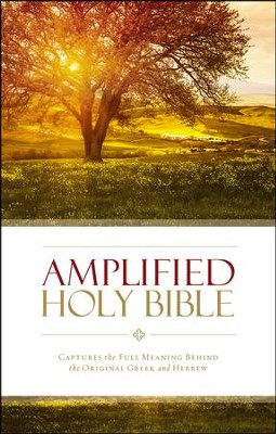 Amplified Holy Bible, softcover