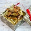 Дървена играчка за елха - детско конче